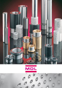 Couverture Catalogues produits Guidage MDL Standard